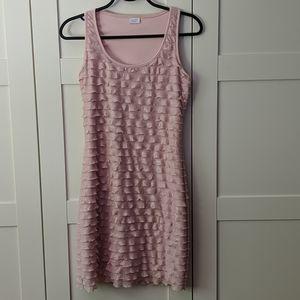 ❄️ 3/$25 Pretty Pink Ruffle Dress